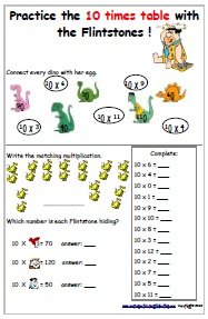 Multiplication worksheets for 11 times table free times for 10x table worksheets