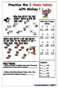3 Times Table Watch Worksheet Source 20 Inspirational Worksheets Ks1 Printable Images