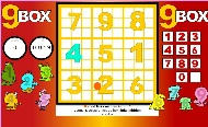 multiplication game - 9 box